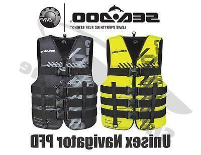 BRP SeaDoo Unisex Nylon Navigator Life Jacket Vest PFD