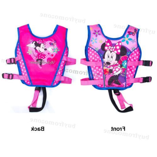 Cartoon Children Polyester Jacket Swimming Vest