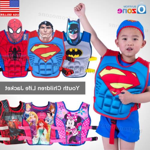 cartoon youth children universal polyester life jacket