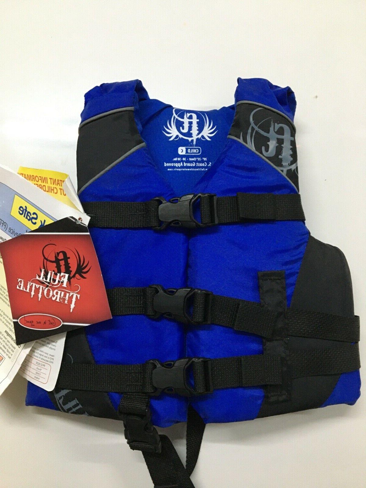 child life jacket vest 20 25 chest