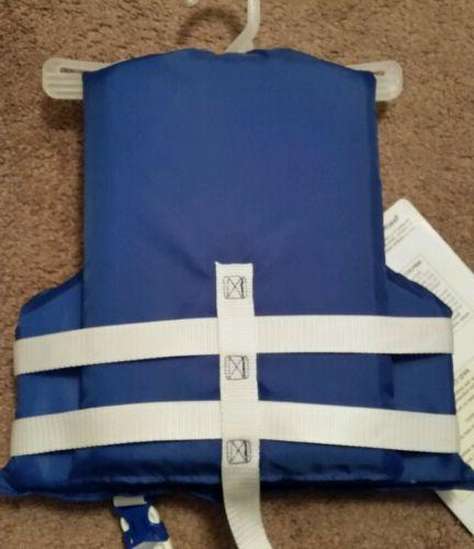 Stearns Child's Boating Vest Life Jacket Blue