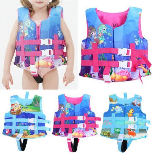 Children's Swimming Swim Jacket Vest Life Jacket Years