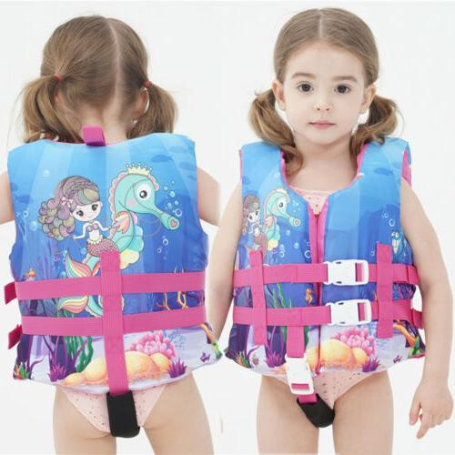 Children's Swimming Swim Jacket For Kids 2-6
