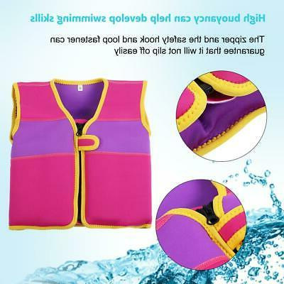 Children' s Swimming Floating Buoyancy Life Jacket 1-4 Years