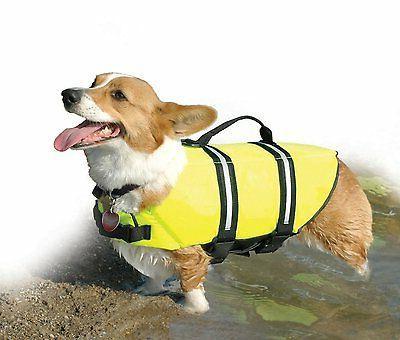 Dog Yellow Vest Paws Y1300 Small Nylon