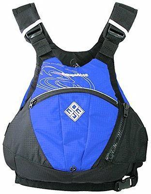 NEW Stohlquist Edge Life Jacket Royal Blue Large X Large FRE
