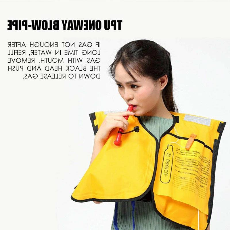 Automatic Inflatable Swimming Jacket Fishing Jacket