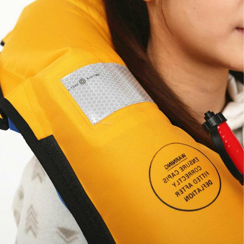 Automatic Swimming Jacket Fishing Life Vest Jacket Adult