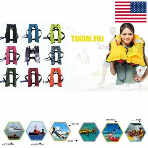 fishing life jacket swiming life vest automatic