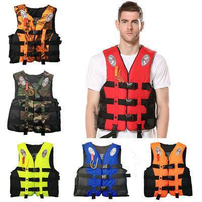 fishing life jacket water sports adult kid