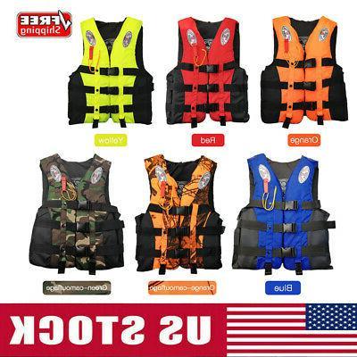 fishing life jackets water sport flotation vest
