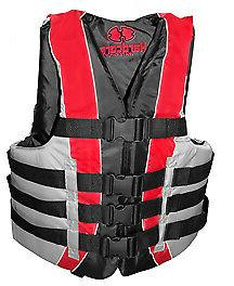 Hardcore Water Sports Fully Enclosed Deluxe 4-Buckle Adult L