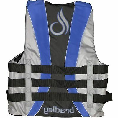 Bradley Fully Enclosed Deluxe 4-Buckle Adult Life Jacket Ves