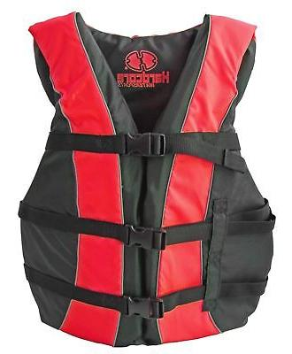 High Visibility USCG Life Jackets for the Whole INCLUDED