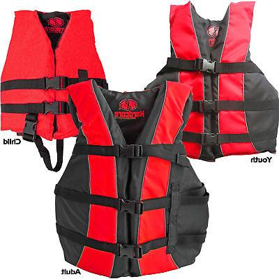 high visibility uscg approved life jackets