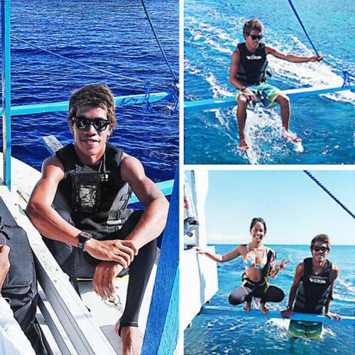 Hisea Professional Neoprene Life Jacket Boating Men Women