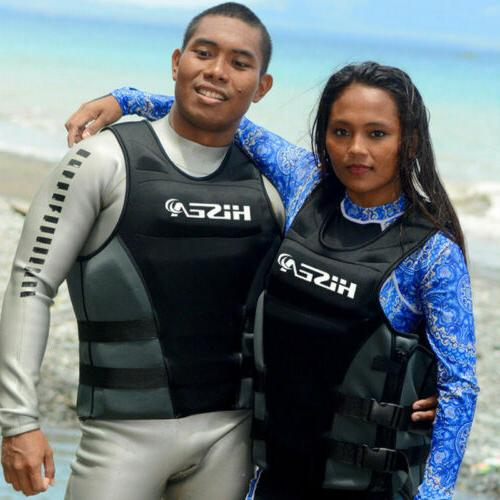 Hisea Professional Jacket Swimming Surfing Boating Men Women