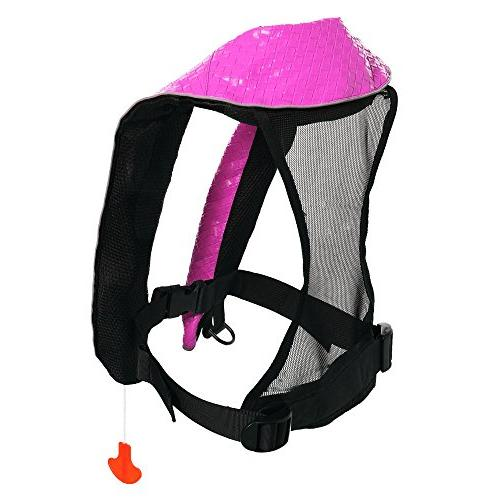 Eyson Inflatable Inflatable Life Vest Deluxe Leather