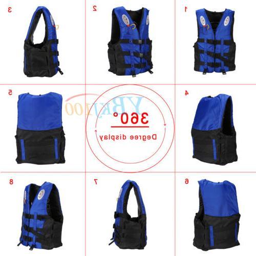 Jacket Boating Preserver Swimming Vest
