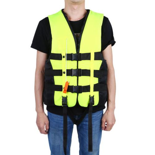 Inflatable Life Vest Adult Fish Swimming Sailing