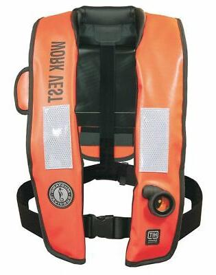 Mustang Survival Inflatable Life Jacket, USCG Type V,