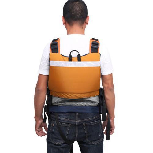 Kayak Fishing Life USCG Fit Universal Oversize Vest