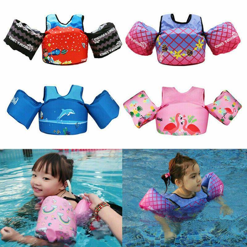 kids baby floaties vest for swimming trainer