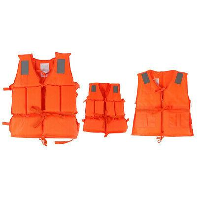 Swimming Jacket Lifesaving Vest Solid Child