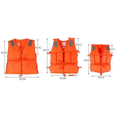 Swimming Life Jacket Lifesaving Vest Tops Solid color