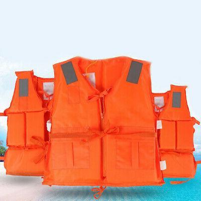 Swimming Lifesaving Vest Wetsuit Solid