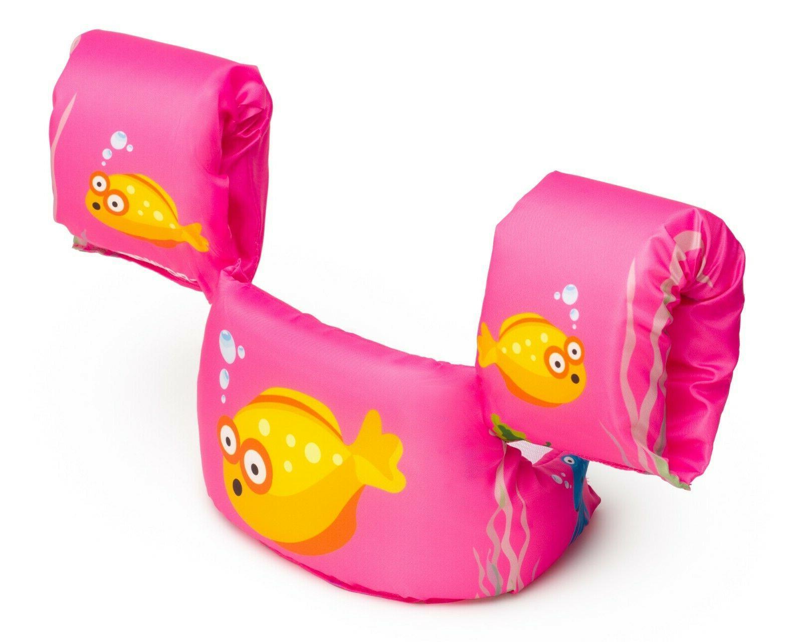 New Bounce Life Jacket for Swim Kids Floaties