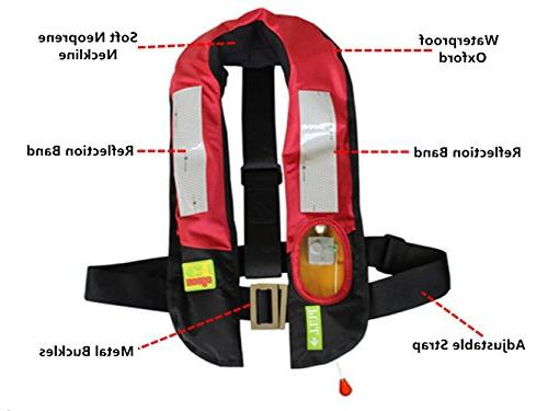 Eyson Life Inflatable PFD Adult, Life Preservers Automatic and Manual Lightweight