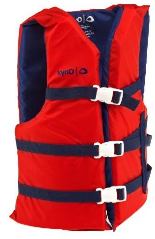 Adult Life Preserver 2-Pack Red III Boating Vest