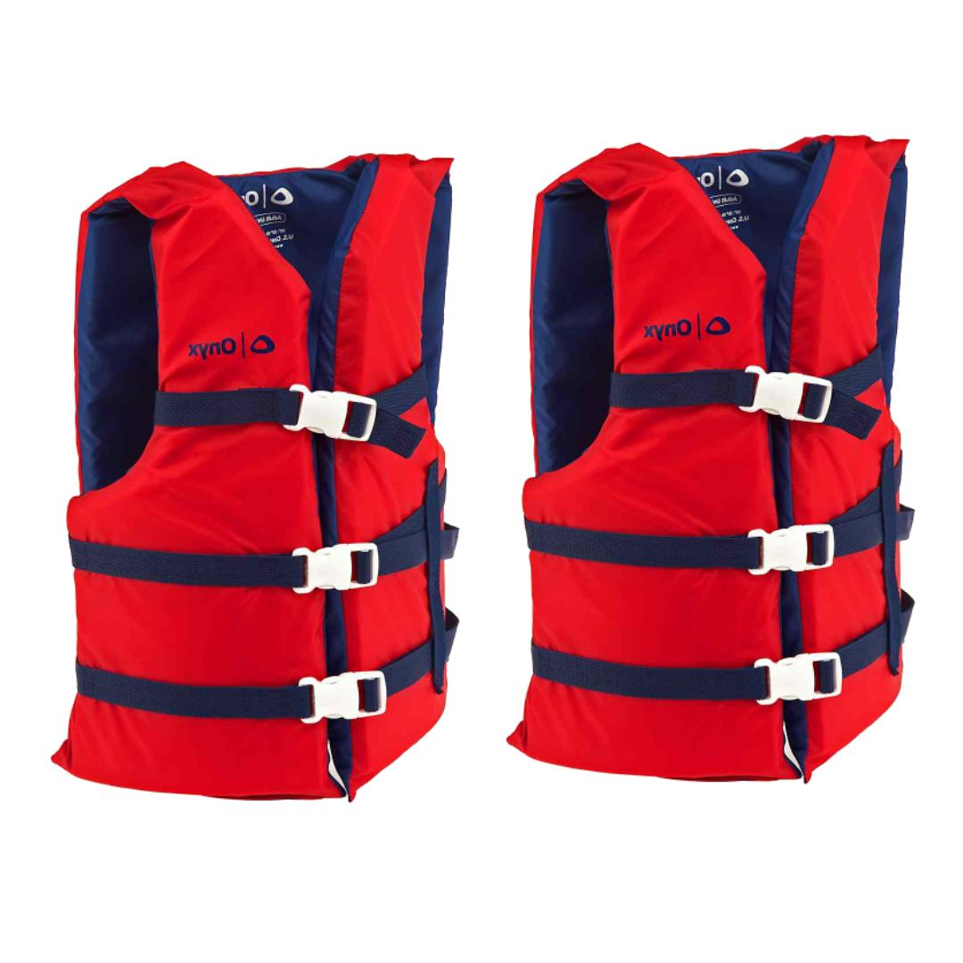 life jacket preserver red uscg