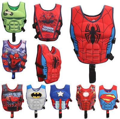 cartoon youth children universal polyester life jacket