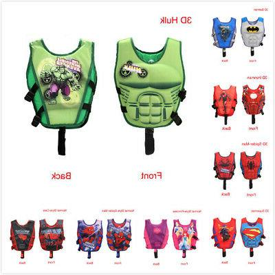 Cartoon Youth Polyester Life Boating Vest
