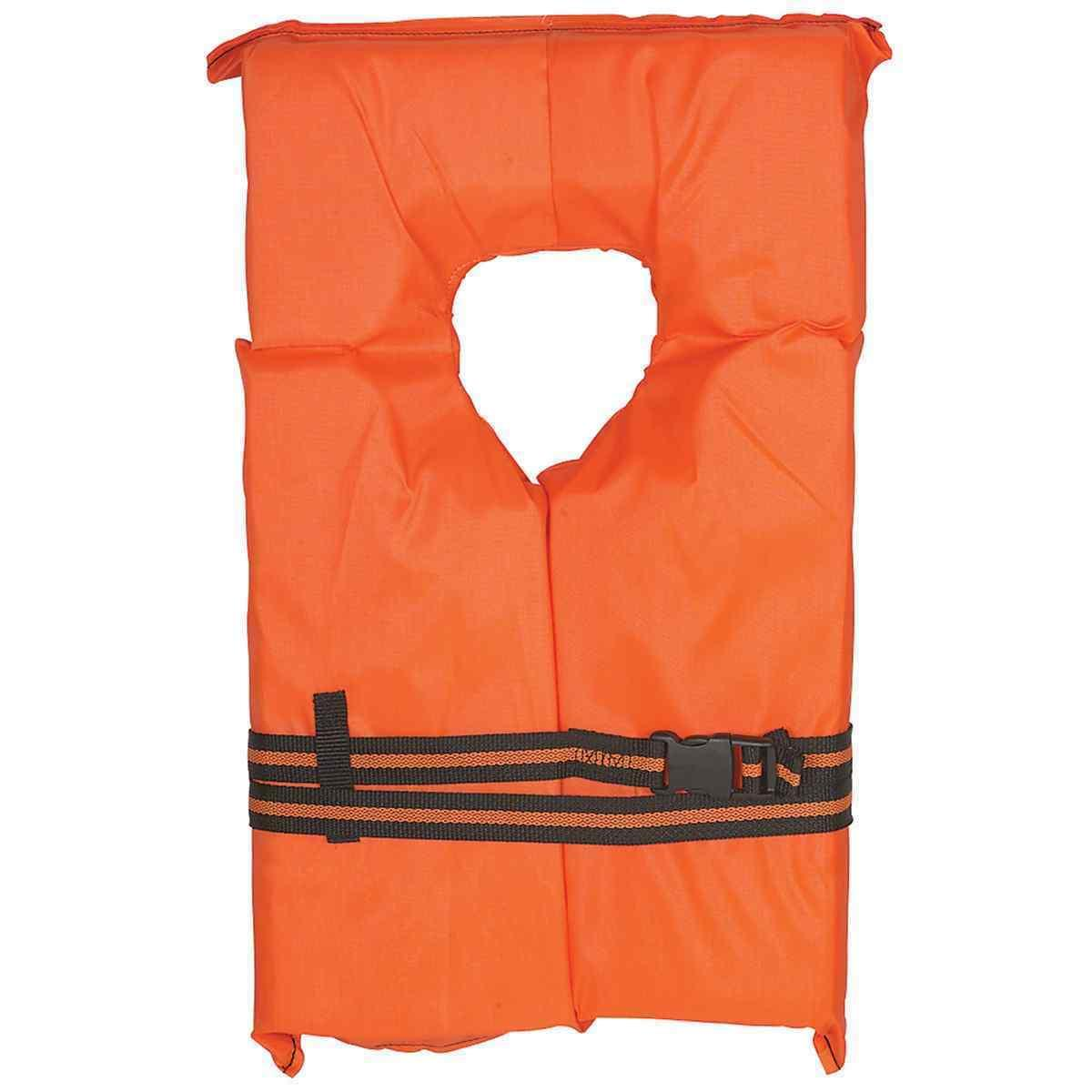 Life 4 II Orange Boating USCG PFD