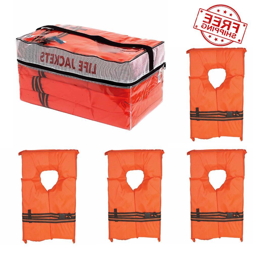 life jacket vest preserver 4 pack type