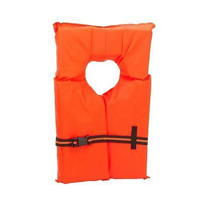 Adult Pack Orange Fishing USCG PFD