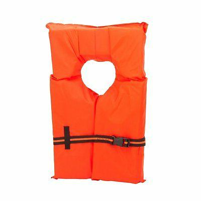 Adult Preserver Pack Fishing Boating USCG