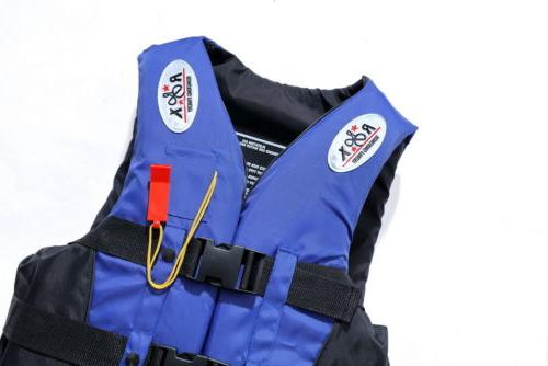 Life Vest Adult Fully Enclosed XL Water