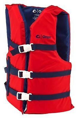 Life Adult Type Boating Vest Preserver Ski Jacket