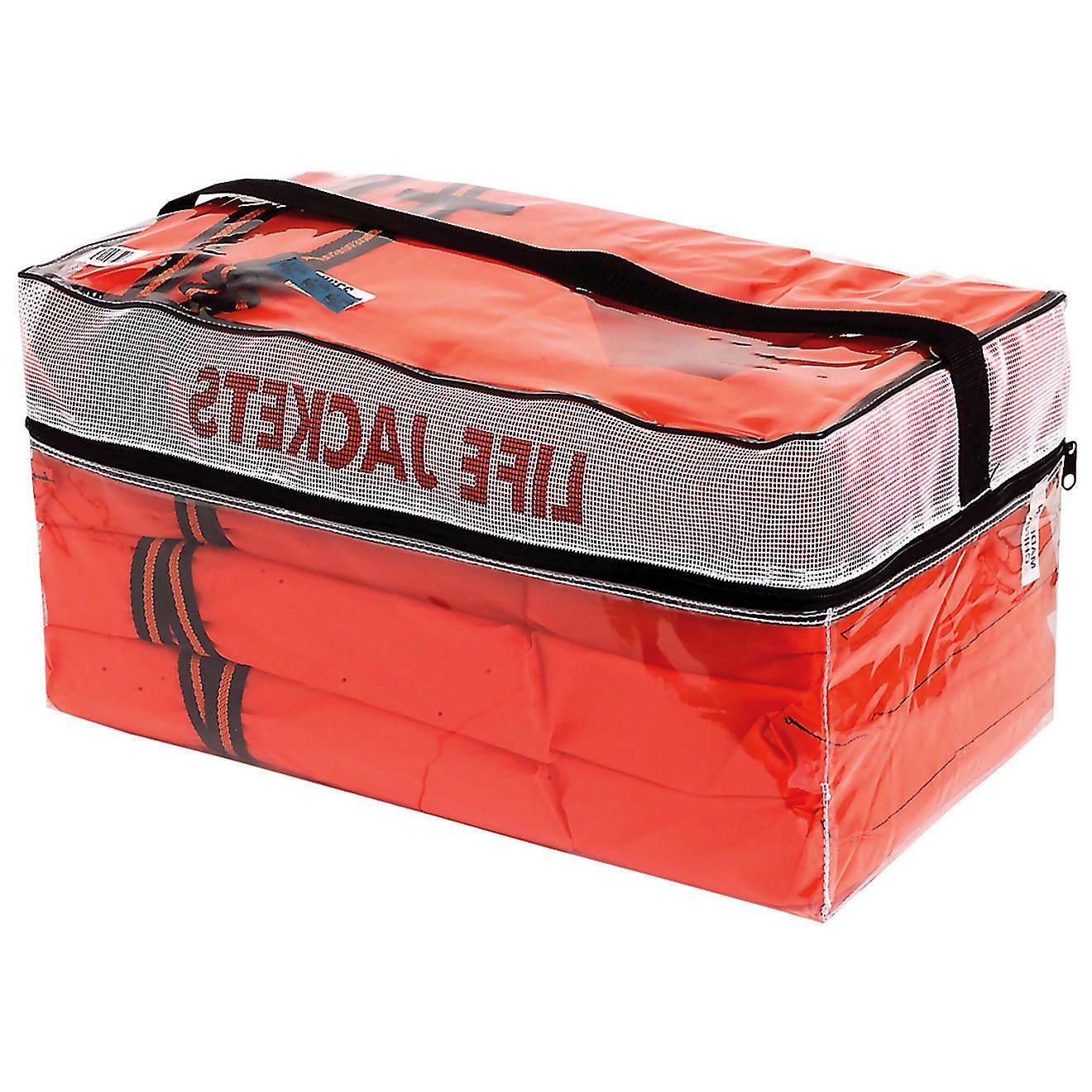 life jackets vest preserver 4 pack type