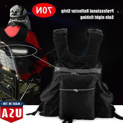Lifesaving Vest Life Jacket with Whistle Swimming Fishing Ka