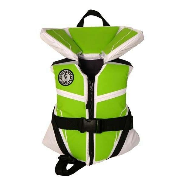 Mustang Survival Lil' Legends 100 Youth Life Vest - White/Ap