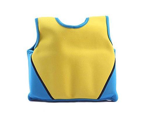 Little Boy Life - Kid Swim Vest Fit 18 Months - 20-28 Lbs, Blue Swim Swim Fishing