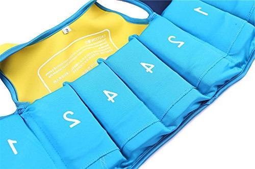 Little Life - Minsk Kid Vest Float Vest Months - 20-28 Blue With Swim Goggles, Fishing