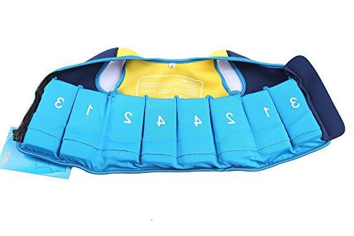Little Boy - Vest Vest Fit Age Months - Years 20-28 Lbs, Size Blue Swim Swim Cap For Training Fishing