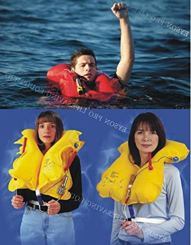 Premium Manual Life Lifejacket PFD Floating Lifesaving PFD Basic