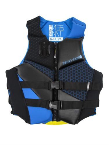 Body Glove Men's Phantom Uscga Life Vest, Large, Blue/Black